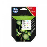 HP C2P43AE No. 950XL fekete + 951XL cyan, magenta, yellow egy csomagban (Hewlett-Packard C2P43AE)