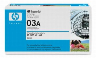 HP C3903A toner cartridge - fekete (Hewlett-Packard C3903A)