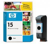 HP C6615D No. 15 tintapatron - black (Hewlett-Packard C6615D)