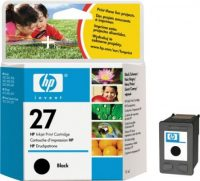 HP C8727A No. 27 tintapatron - black (Hewlett-Packard C8727A)