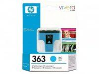 HP C8771E No. 363 tintapatron - cyan (Hewlett-Packard C8771E)