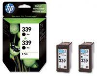 HP C9504A No. 339 dupla csomag 2 x HP C8767E - black (Hewlett-Packard C9504A)
