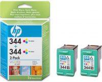 HP C9505A No. 344 dupla csomag 2 x HP C9363E - colour (Hewlett-Packard C9505A)