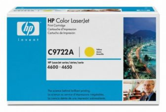 HP C9722A toner cartridge - sárga (Hewlett-Packard C9722A)