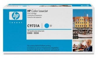 HP C9731A toner cartridge - ciánkék (Hewlett-Packard C9731A)