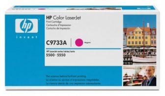 HP C9733A toner cartridge - bíborvörös (Hewlett-Packard C9733A)