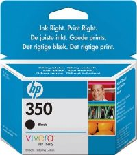 HP CB335E No. 350 tintapatron - black (Hewlett-Packard CB335E)