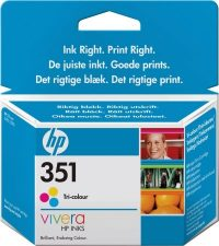 HP CB337E No. 351 tintapatron - colour (Hewlett-Packard CB337E)
