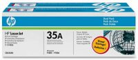 HP CB435AD toner cartridge pack 2 x HP CB435A toner - fekete (Hewlett-Packard CB435A)