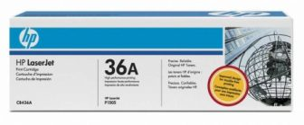 HP CB436A toner cartridge - fekete (Hewlett-Packard CB436A)
