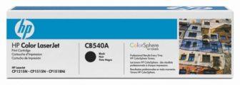 HP CB540A festékkazetta (No. 125A) - fekete (Hewlett-Packard CB540A)
