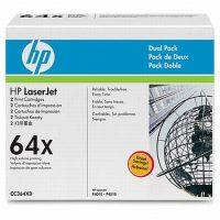 HP CC364XD toner cartridge pack 2 x HP CC364X toner - fekete (Hewlett-Packard CC364XD)