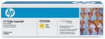 HP CC532A festékkazetta (No. 304A) - sárga (Hewlett-Packard CC532A)