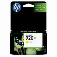 HP CD974A No. 920XL tintapatron - yellow (Hewlett-Packard CD974A)