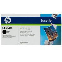 HP CE250X festékkazetta (No. 504X) - fekete (Hewlett-Packard CE250X)
