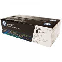 HP CE320AD festékkazetta csomag (No. 128A) - 2 darab HP CE320A toner (Hewlett-Packard CE320AD)