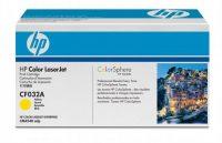 HP CF032A toner cartridge - yellow (Hewlett-Packard CF032A)