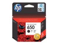 HP CZ101A No. 650 tintapatron - black (Hewlett-Packard CZ101A)