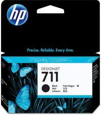 HP CZ129A No. 711 tintapatron - fekete (Hewlett-Packard CZ129A)