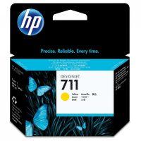 HP CZ132A No. 711 tintapatron - sárga (Hewlett-Packard CZ132A)