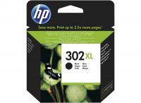 HP F6U68AE No. 302XL tintapatron - black (Hewlett-Packard F6U68AE)