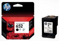 HP F6V25AE No. 652 tintapatron - fekete (Hewlett-Packard F6V25AE)