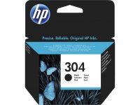 HP N9K06AE No. 304 tintapatron - fekete (Hewlett-Packard N9K06AE)