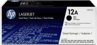 HP Q2612AD toner cartridge pack 2 x HP Q2612A toner - fekete (Hewlett-Packard Q2612AD)