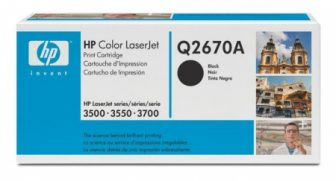 HP Q2670A toner cartridge - fekete (Hewlett-Packard Q2670A)