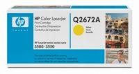 HP Q2672A toner cartridge - sárga (Hewlett-Packard Q2672A)