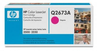 HP Q2673A toner cartridge - bíborvörös (Hewlett-Packard Q2673A)