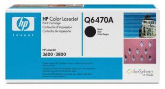 HP Q6470A toner cartridge - fekete (Hewlett-Packard Q6470A)