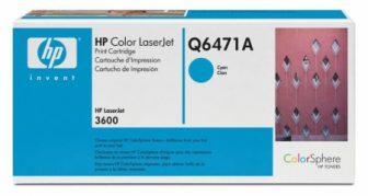 HP Q6471A toner cartridge - ciánkék (Hewlett-Packard Q6471A)