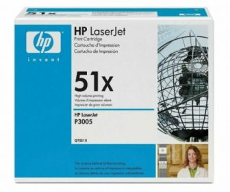 HP Q7551X toner cartridge - fekete (Hewlett-Packard Q7551X)