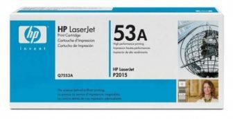 HP Q7553A toner cartridge - fekete (Hewlett-Packard Q7553A)