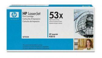 HP Q7553X toner cartridge - fekete (Hewlett-Packard Q7553X)