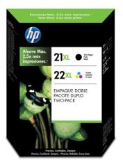 HP SD367A No. 21, 22 csomag - 1 x HP C9351A, 1 x HP C9352A - black, colour (Hewlett-Packard SD367A)