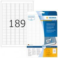 Herma 10001 öntapadós etikett címke
