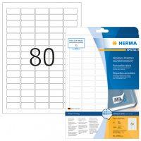 Herma 10003 öntapadós etikett címke