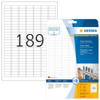 Herma 10900 fehér színű öntapadó etikett címke
