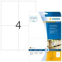 Herma 10909 fehér színű öntapadó etikett címke