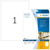 Herma 10911 fehér színű öntapadó etikett címke