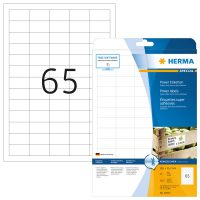 Herma 10913 fehér színű öntapadó etikett címke