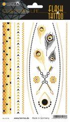 """Herma Flash Tattoo No. 15158 öntapadó tetoválás matrica """"Jewels"""" motívumokkal."""