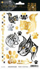 """Herma Flash Tattoo No. 15181 öntapadó tetoválás matrica """"Wildlife"""" motívumokkal."""