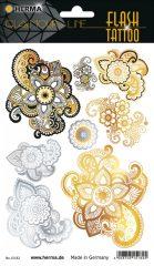 """Herma Flash Tattoo No. 15182 öntapadó tetoválás matrica """"Mandala"""" motívumokkal."""