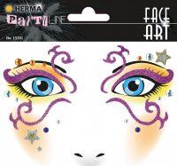 """Herma Face Art No. 15301 öntapadó arc matrica """"Mystery"""" motívumokkal."""
