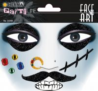 "Herma Face Art No. 15306 öntapadó arc matrica ""Pirate"" motívumokkal."
