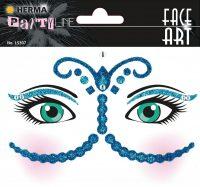 "Herma Face Art No. 15307 öntapadó arc matrica ""Bollywood"" motívumokkal."
