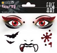 "Herma Face Art No. 15318 öntapadó arc matrica ""Vampire"" motívumokkal."